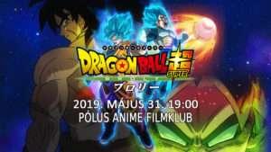 Dragon Ball Super: BROLY a PÓLUS Moziban!