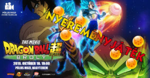 Dragon Ball Super: Broly – Nyereményjáték