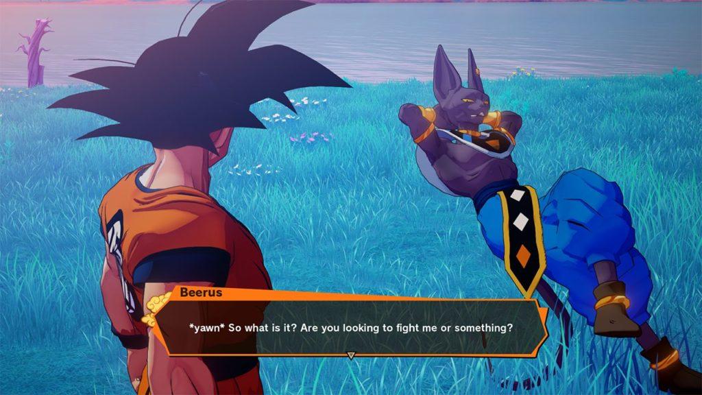 DBZK VJUMP Beerus dialogue 1024x576 - Dragon Ball Z: Kakarot DLC
