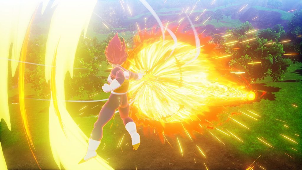 DBZK VJUMP God Heat Flash 1024x576 - Dragon Ball Z: Kakarot DLC