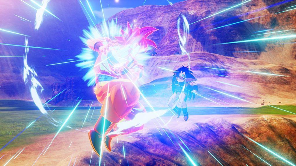 DBZK VJUMP Goku SSG VS Raditz 1024x576 - Dragon Ball Z: Kakarot DLC