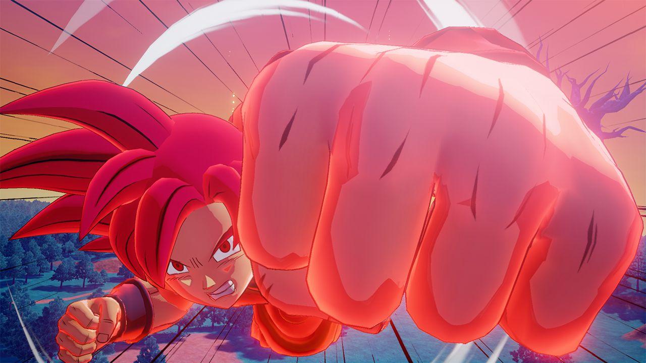 DBZK VJUMP Goku SSG - Dragon Ball Z: Kakarot DLC