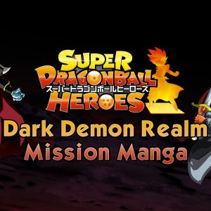 SDBH: Dark Demon Realm Mission Manga 11. fejezet