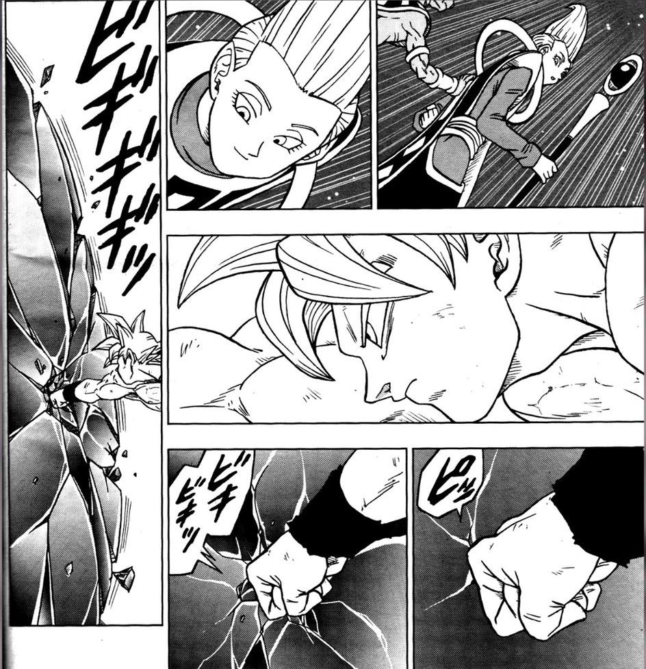 Dragon Ball Super manga: 66. fejezet kiszivárgott oldalak 18
