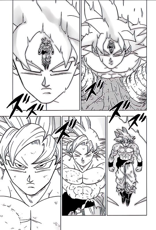 Dragon Ball Super manga: 66. fejezet kiszivárgott oldalak 3