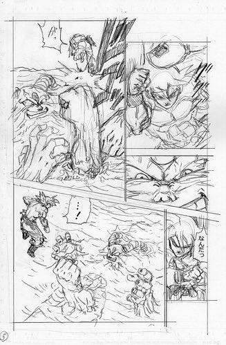 Dragon Ball Super Manga: 66. fejezet vázlatok és infók 5