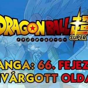 Dragon Ball Super manga: 66. fejezet kiszivárgott oldalak
