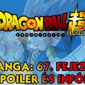 Dragon Ball Super Manga: 67. fejezet vázlatok és infók