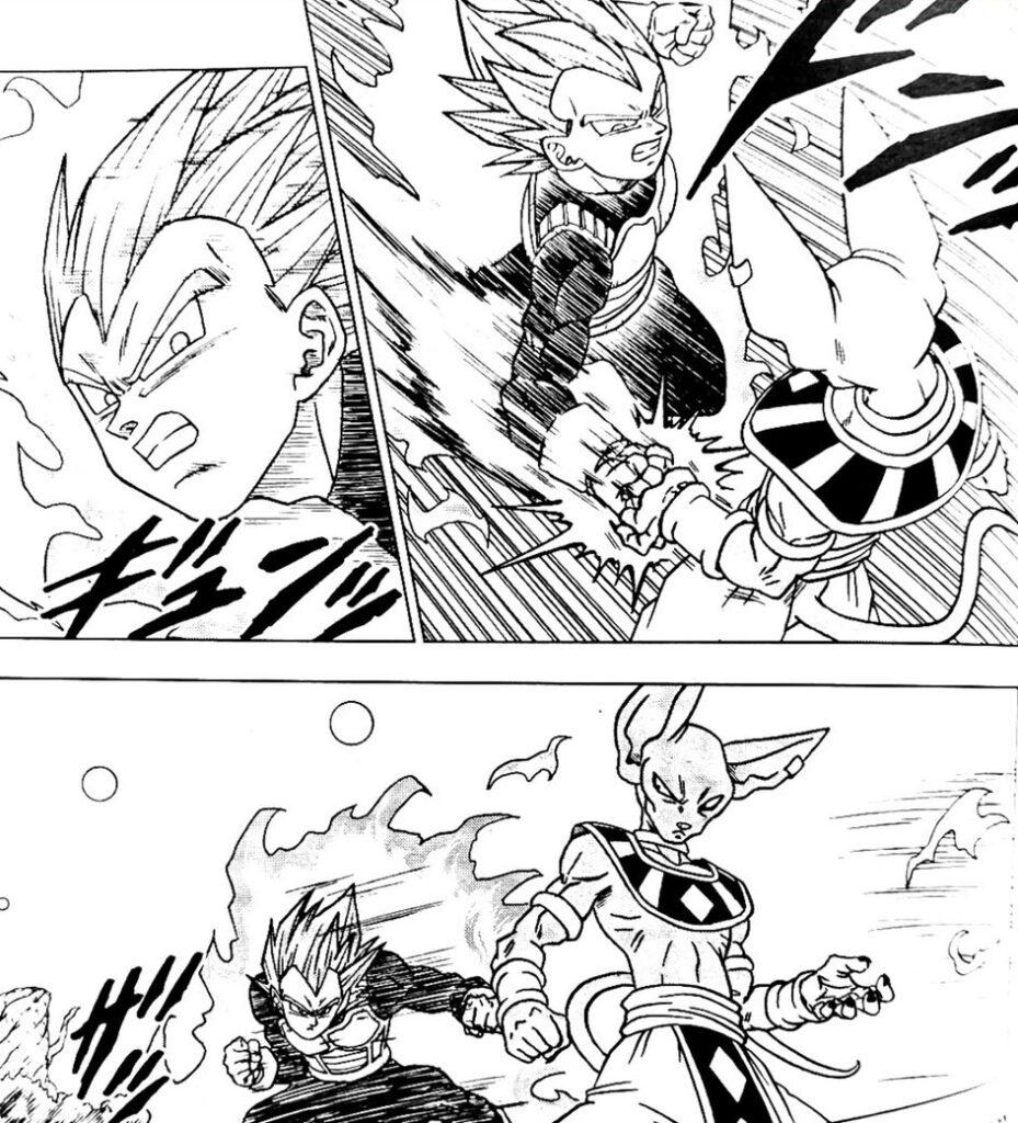 Dragon Ball Super Manga: 69. fejezet kiszivárgott oldalak és infók 4