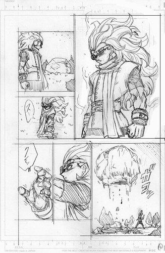 Dragon Ball Super Manga: 70. fejezet vázlat oldalak és infók 10
