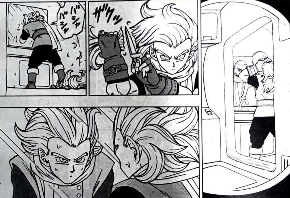 Dragon Ball Super Manga 70. fejezet: kiszivárgott spoileres oldalak 6