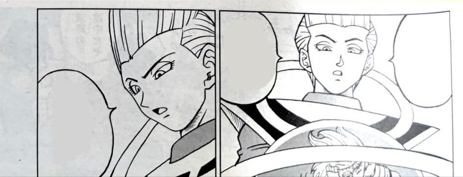 Dragon Ball Super Manga 70. fejezet: kiszivárgott spoileres oldalak 7