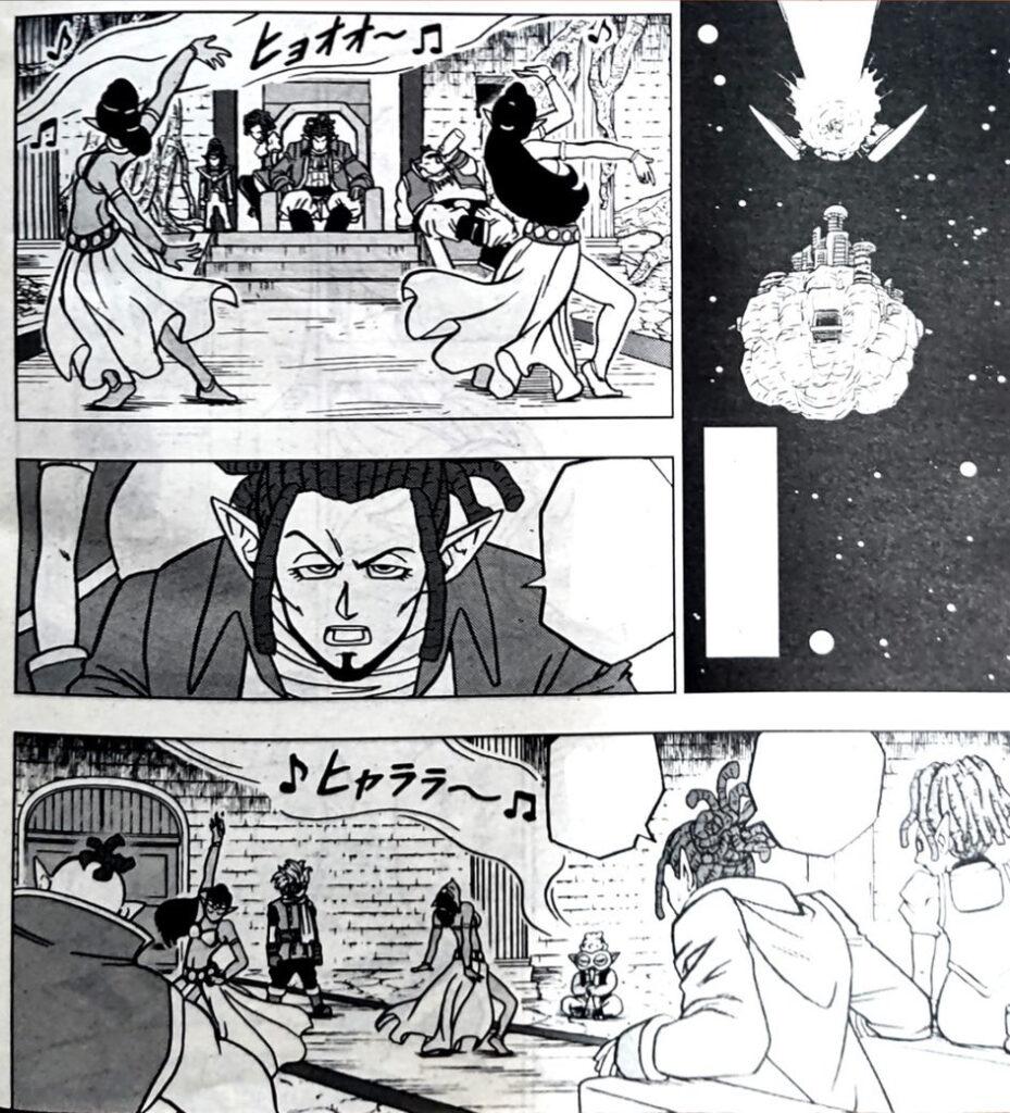 Dragon Ball Super Manga 70. fejezet: kiszivárgott spoileres oldalak 8
