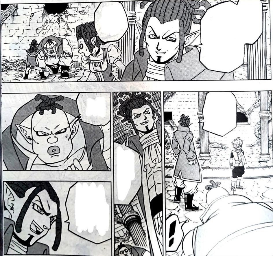 Dragon Ball Super Manga 70. fejezet: kiszivárgott spoileres oldalak 12