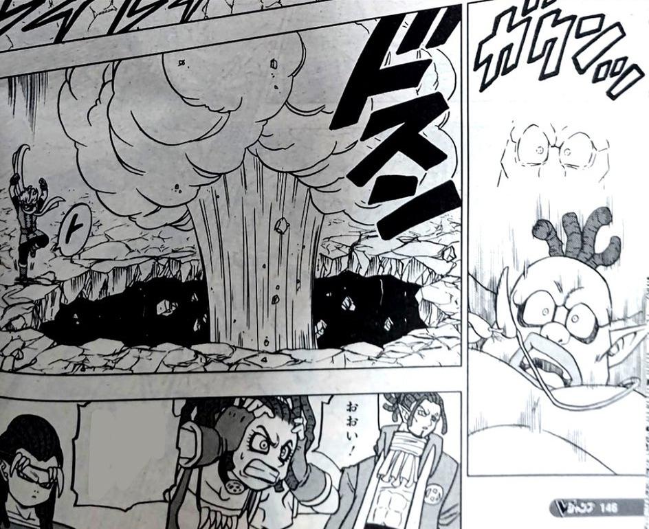 Dragon Ball Super Manga 70. fejezet: kiszivárgott spoileres oldalak 14