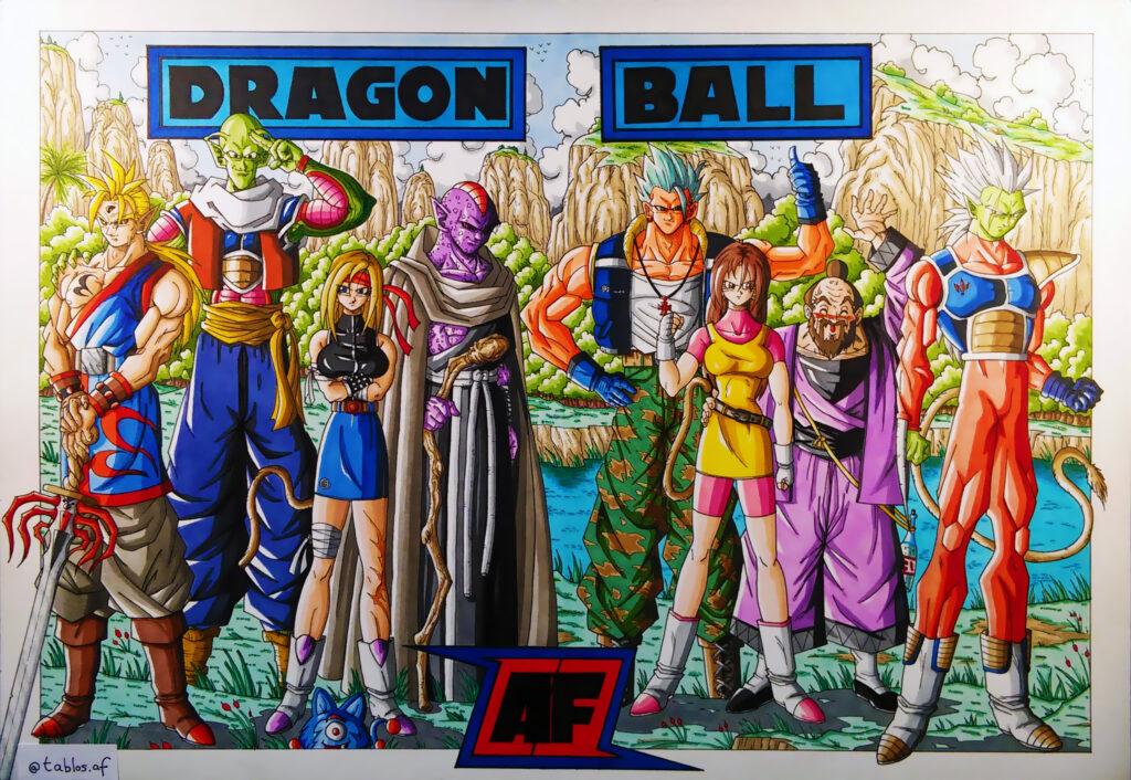 """Hogyan változtatta meg az """"SSJ5"""" fanart a Dragon Ball közösséget? 2"""