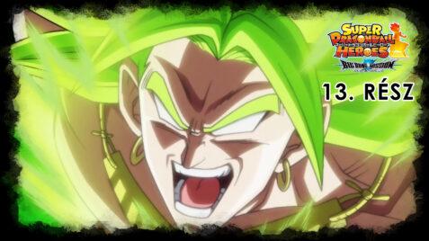Super Dragon Ball Heroes: Big Bang Mission 13. rész – Magyar felirattal