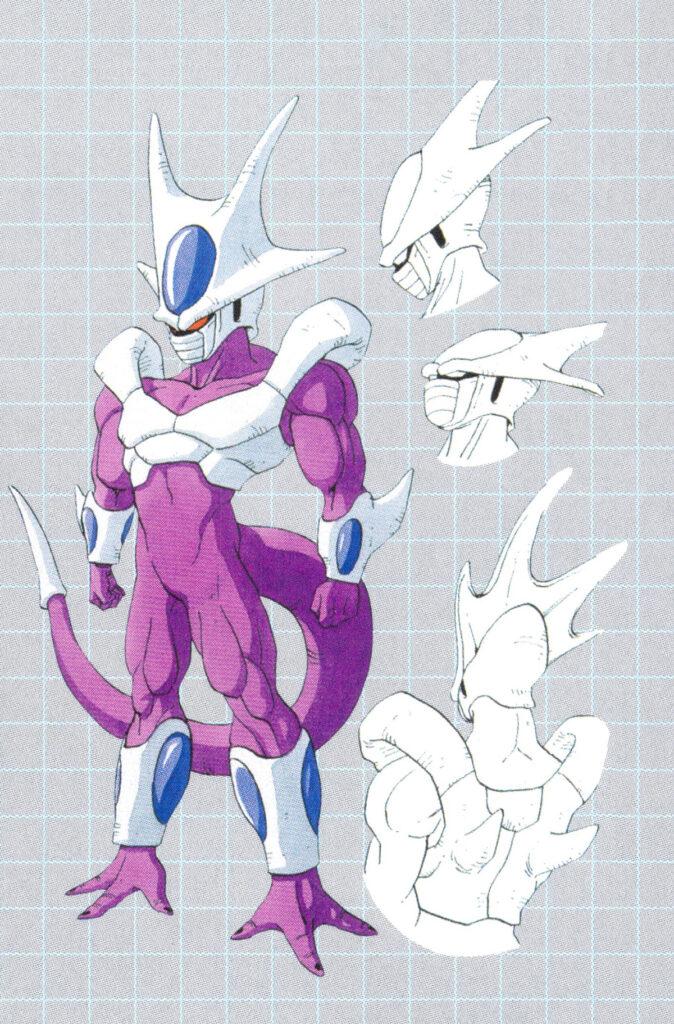 Dragon Ball Z - Cooler Bosszúja Karakter Dizájn