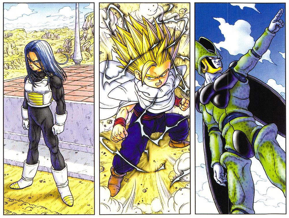 "Toriyama Archívum 017: Dragon Ball DVD bónusz ""Diorama 3. kiadás"" illusztráció 2"