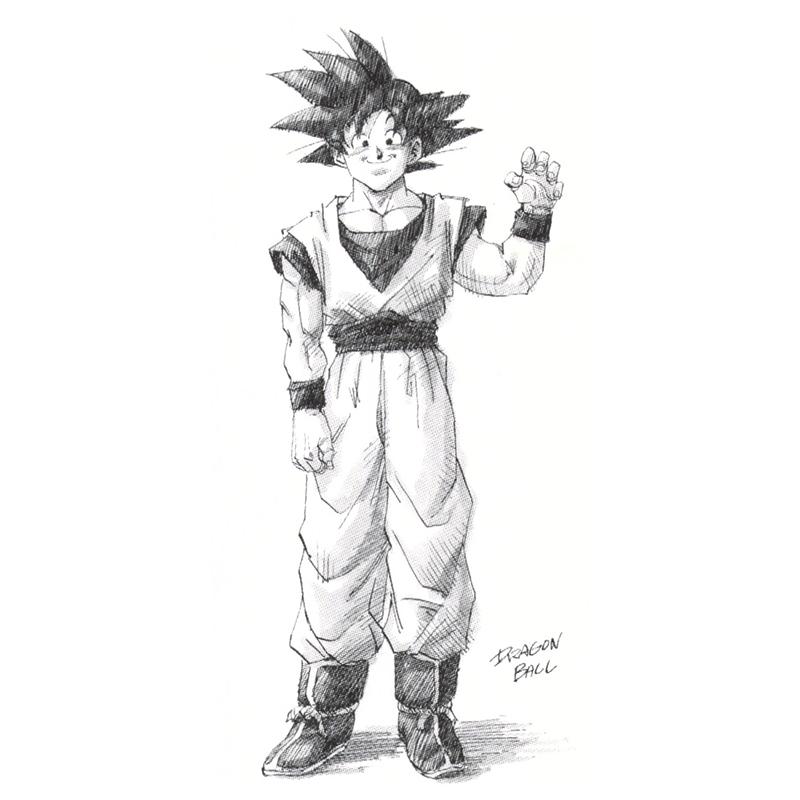 Dragon Ball Daizenshuu 7. kötet illusztráció