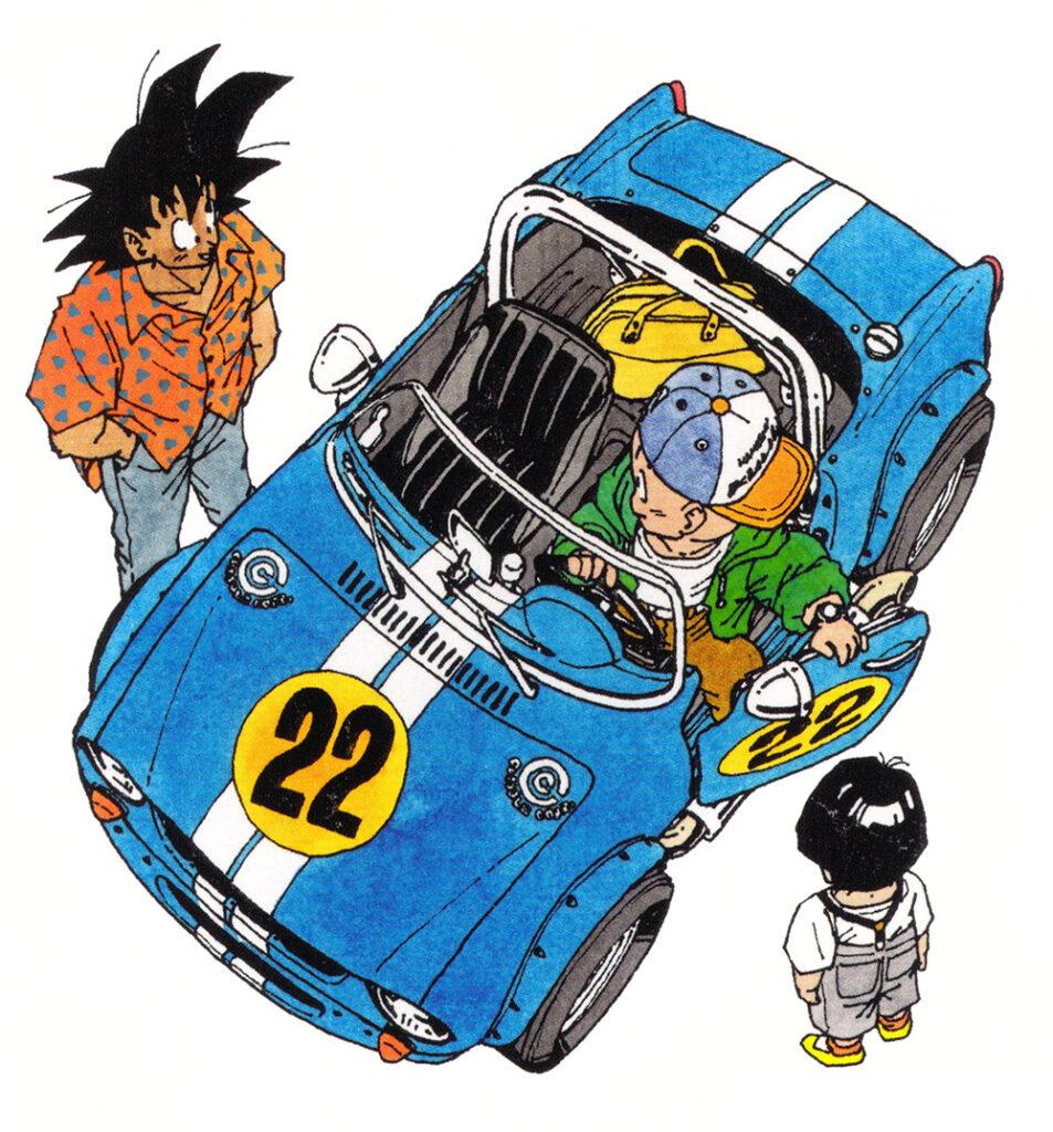 Dragon Ball manga 22. kötet borítója