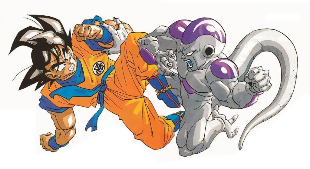 Dragon Ball Z II: Gekishin Frieza!! Poszter Illusztráció