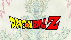 """Dragon Ball Z """"genga"""" illusztrációk"""