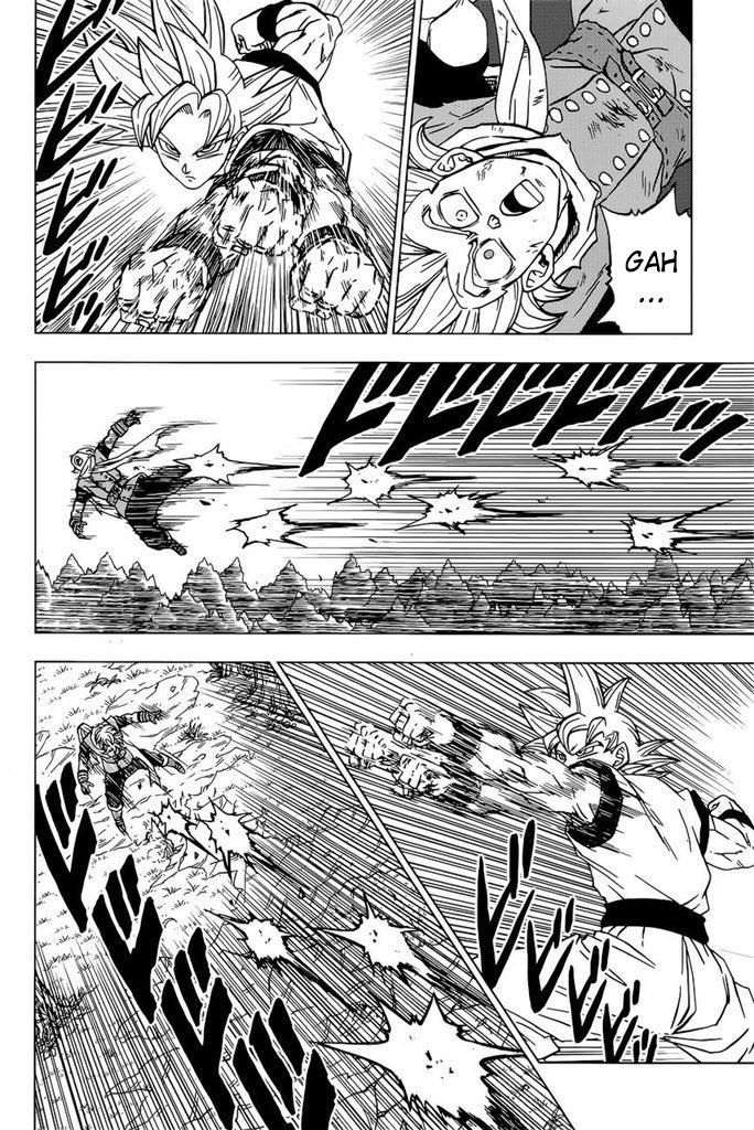 Dragon Ball Super Manga 73. fejezet: megjelenés előtti spoileres képek 1