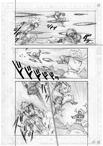 Dragon Ball Super Manga 73. fejezet vázlat oldalak és összefoglaló 2