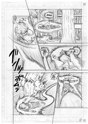 Dragon Ball Super Manga 73. fejezet vázlat oldalak és összefoglaló 4