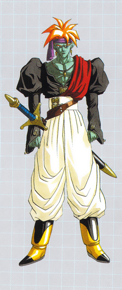 Dragon Ball Z - A hihetetlen fickó, Bojack karakter dizájn