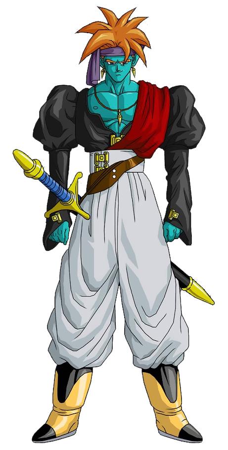 Toriyama Archívum 026: Dragon Ball Z - A hihetetlen fickó, Bojack karakter dizájn 1