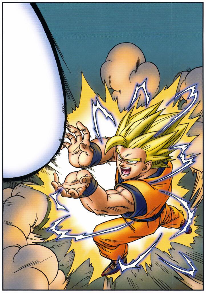 Toriyama Archívum 44: Monthly Shonen Jump 2004 február - Ingyenes kártya illusztráció 1