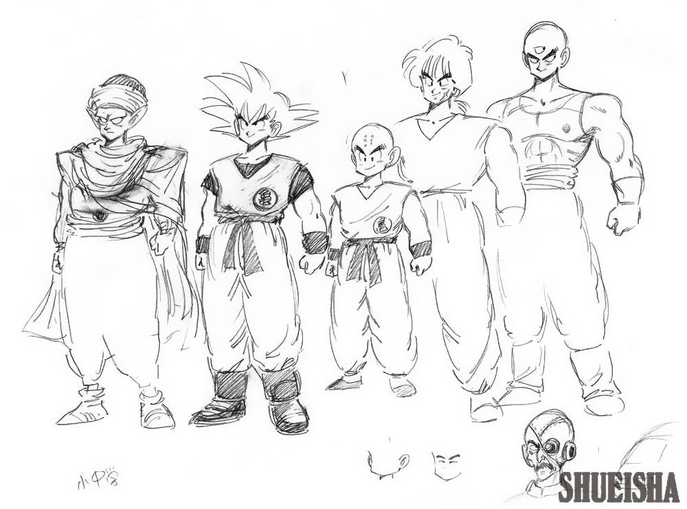 Dragon Ball karakter dizájnok