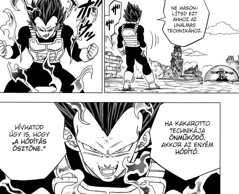 Dragon Ball Super Manga 75. fejezet: kiszivárgott spoileres képek 4